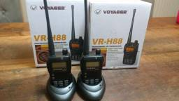 02 Radios Voyager VR-H88 Novos na caixa