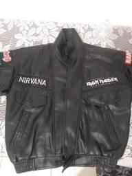 Jaqueta de couro personalizado