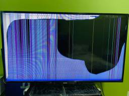 Tv led smart Philips 43 - defeito na tela