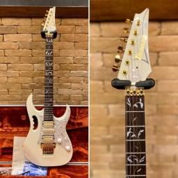 Guitarra Ibanez Jem 7v Steve Vai White 2005 comprar usado  Monte Aprazível