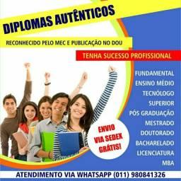 Diplomas profissional !!