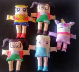 Bonecos Almofadas Naninhas