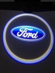 50cada porta projetor porta de carro luz a pilha TEM FIAT FORD WOLKS E HYUNDAI