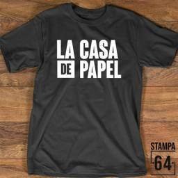 Camiseta Séries (Masc. e Femin.)