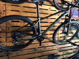 Bike First 2021 (Nova geometria 69,7 graus) Scott e Sense