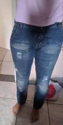 Calça jeans Dieguez nova