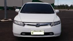 Honda Civic Branco Top Placa I - 2007