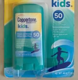 Protetor Solar em Bastão Coppertone e Kids importado (Original)