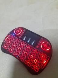 Mini teclado sem fio