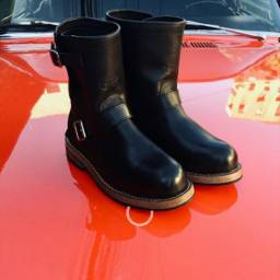 Bota Breaknecks Engineer Boots 41 (ñ harley davidson)