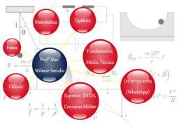 Aulas particulares de Física, Matemática, Química e Cálculo