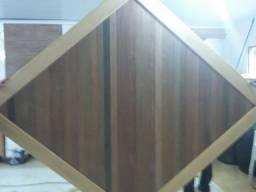 Painel Decorativo de madeira nobre em Ipê