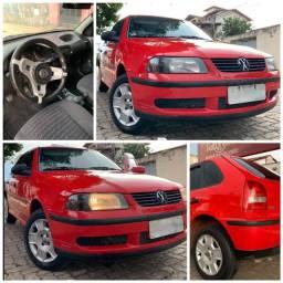 Vendo VW Gol 1.0 4P Vermelho 2005/2005