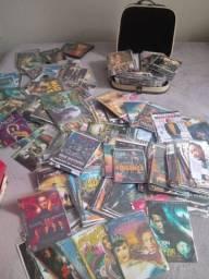 Filmes diversos, incluindo CDs de música