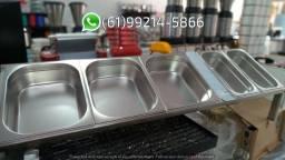 Condimentadora 5 cubas Inox sem resfriamento Italinox Kit Pizzaiolo