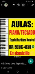 Aulas de piano, teclado e teoria musical