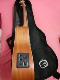 Vendo ou troco ukulele elétrico