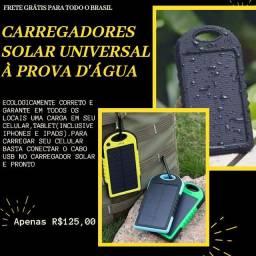 Carregador Solar! FRETE GRÁTIS P/ TODO O BRASIL, RECEBA EM ATÉ 10 DIAS ÚTEIS!