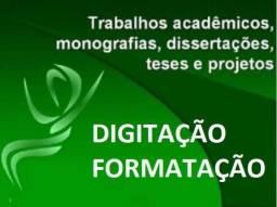 Digitação e Formatação de Trabalhos Acadêmicos
