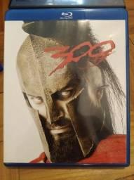 Combo Filmes Blu-ray 300 Simpsons X-Men Origens Wolverine