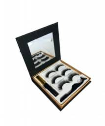 Cílios Magnéticos 6D (Kit estojo)