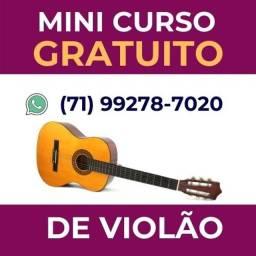 Mini Curso (Gratuito) de Violão