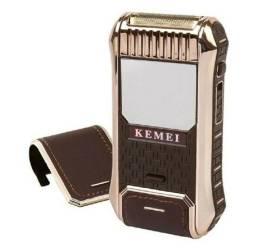 Barbeador Elétrico Máquina Shaver Kemei Rscw-5300