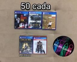 Jogos de PS4 Playstation 4 50 cada
