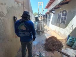 Poço artesiano para residências e empresas.