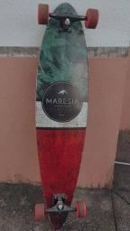 Skate Longboard Maresia Original Montado cores do Reggae