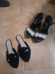 Sandálias da VIZZANO e DONA LUIZA