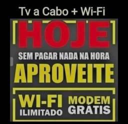 Wifi com tv a cabo