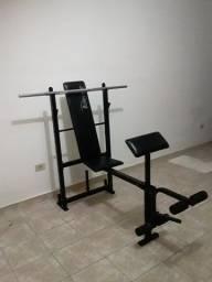 Estação de musculação,kit halteres e mais,confira.