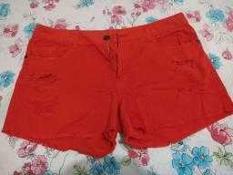 Short Jeans Laranja