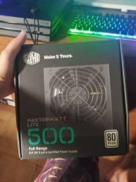 Fonte master cooler muito novo na caixa