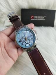Relógio Curren de couro Original** Promoção e entrega grátis**