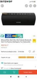 Título do anúncio: Caixa de som blitzwoif, 20 w resistência a água NFC