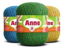Linhas Anne Circulo 1000m - Todas as cores - Liquidando Tudo!