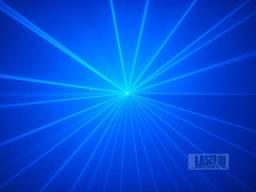Laser 1 Saída Azul