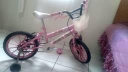 Bicicleta menina princesas