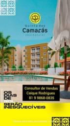 Apartamento no residencial Quinta dos Camarás