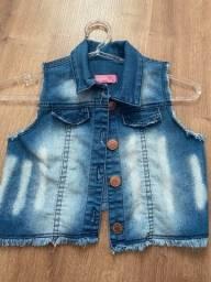 Título do anúncio: Colete jeans infantil