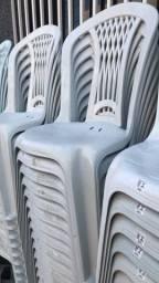 Cadeira nova de plástica para lanchonete no atacado