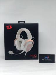 Título do anúncio: Headset Gamer Redragon Zeus 2 7.1 Branco USB Novo Lacrado *Pronta Entrega*
