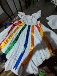 Vendo vestido de festa junina qualquer peça r$ 20