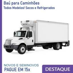 Baú Refrigerado e Baú Seco para Caminhão Modelo Ano 2015 a 2023