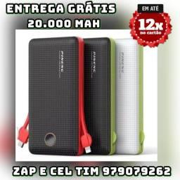 Título do anúncio: carregador portátil 5.000/10.000/20.000
