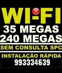Wifi sem redução, instalação imediata