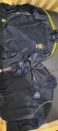 2 casacos lindos CBF + Serrano- Petrópolis