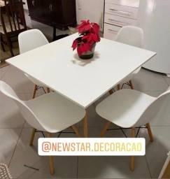 Mesa de jantar eames eiffel